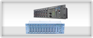 Alesis Rackmount Mixers Equalizers and Compressors