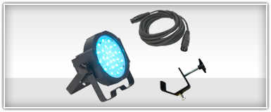 American DJ Battery Powered Lighting Packages