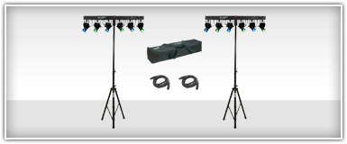 American DJ Tripod Lighting Packages