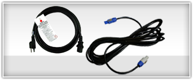 Blizzard Lighting Power Cables