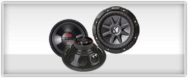 10 Inch Car Audio Subwoofers