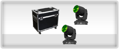 Chauvet Moving Head Yoke Lights Packages