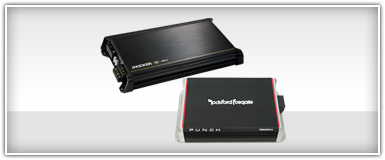 Closeouts 4-Channel Amplifiers