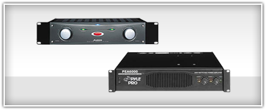 Closeouts Pro Audio Amplifiers