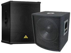 Closeouts Pro Audio PA Subwoofers here at HifiSoundConnection.com