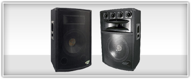Closeouts Pro Audio Passive PA Speakers
