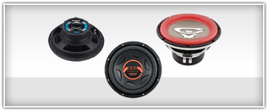Closeouts 10 Inch Subwoofers