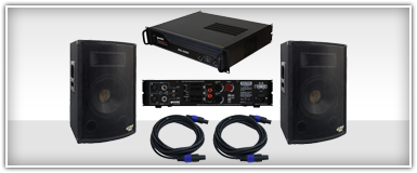 DJ Systems 10 Inch Speakers & Amplifiers
