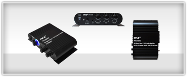 Home Theater Mono Amplifiers