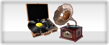 Home Theater Retro Vintage & Classic Style Turntable