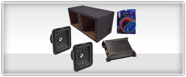 Kicker Dual 15 Inch Amplified Enclosures