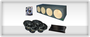 Kicker Quad 12 Inch Amplified Enclosures