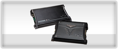 Kicker 2 Channel Amplifiers