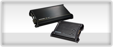 Kicker 4 channel amplifiers