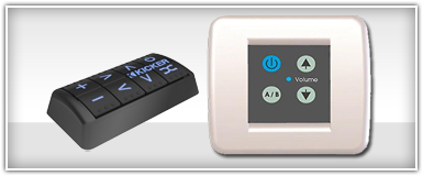 Marine Audio Remote Controls