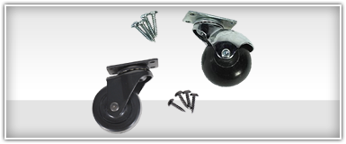 Amplifier Casters & Wheels