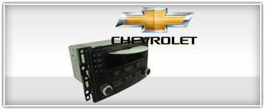 Chevy Factory Radio