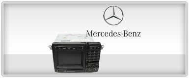 Mercedes-Benz Factory Radios