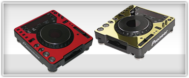 Odyssey Turntable & CD Player Faceplates