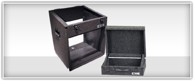 Odyssey Carpeted DJ Mixer Cases