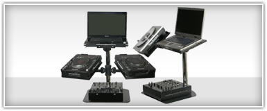 Odyssey CD/MP3 Player & Mixer Stands