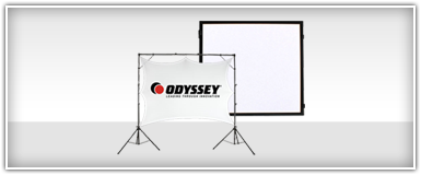 Odyssey Video Projection Screens