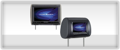 Power Acoustik Headrest Monitor