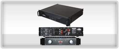 Pro Audio Installation Amplifiers