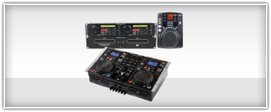 Pro Audio CD Player & Mixers