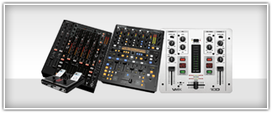 Pro Audio DJ Mixers & Crossovers