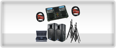 Pro Audio DJ Equipment Packages