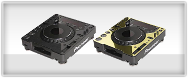 Pro Audio Turntable Faceplates