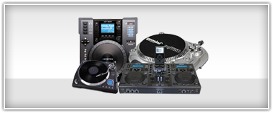 Pro Audio DJ Turntables