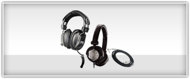 Pro Audio DJ Headphones