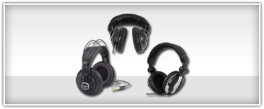 Pro Audio Studio & Monitor Headphones
