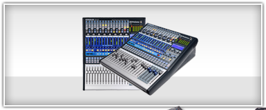 Pro Audio Tabletop Mixers
