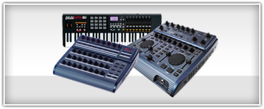 Pro Audio MIDI Controllers & Synthesizers