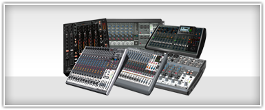 Pro Audio Music Production Mixers