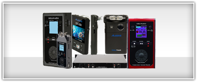 Pro Audio Portable & Multi-Track Recorders