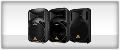 Pro Audio DJ PA Speakers