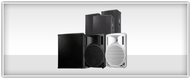 Pro Audio Passive PA Speakers