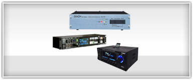 Pro Audio Stereo Receivers