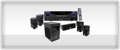 Pro Audio Home Theater Speaker System