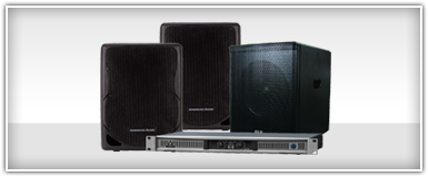 Pro Audio PA Speaker Systems