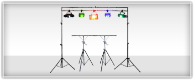 Pro Audio Lighting Stands