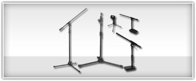 Pro Audio Microphone Stands