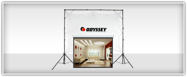 Pro Audio Video Projection Screens