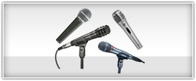 Pro Audio Dynamic Microphones