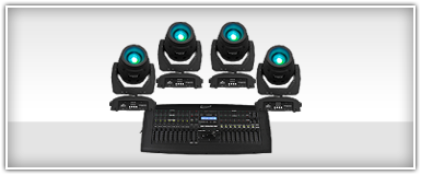 Moving Head Spot Light Packages