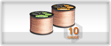Raptor 10 Gauge Speaker Wires